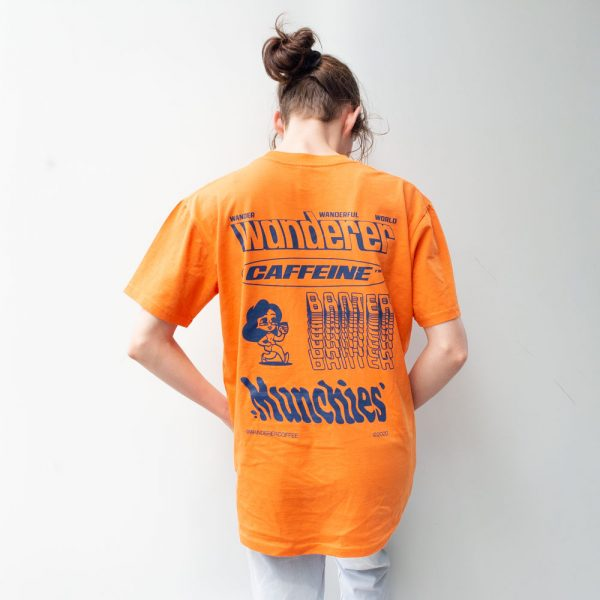 Wanderer Orange T Shirt Back