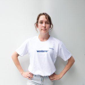 Wanderer White T Shirt Front