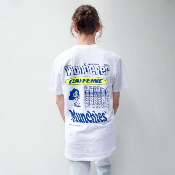 Wanderer White T Shirt Back